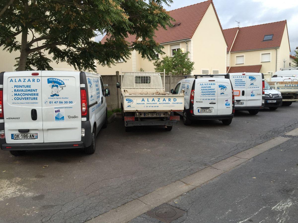 Alazard les équipements de la société de travaux alazard à champigny (94)